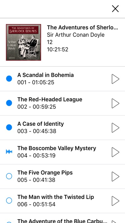 Signum Player - Audiobook and Podcast Player screenshot-1
