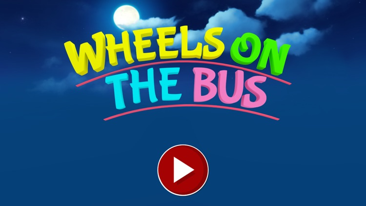 Wheels On The Bus - Song For Kids In 3D