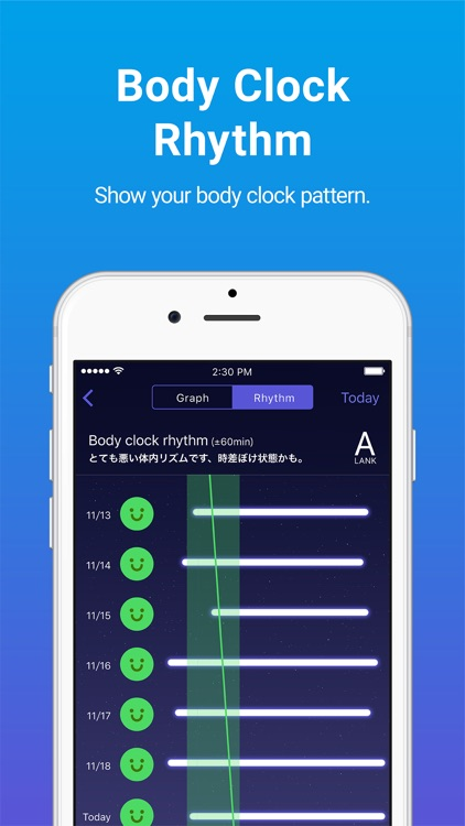 Sleepdays- Alarm clock for better sleep. screenshot-2