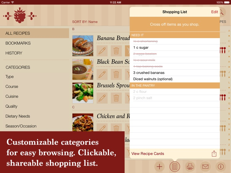 The Recipe Box - Your Kitchen, Your Recipes screenshot-4