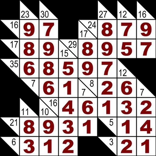 Kan U Kakuro? Cross Sum Logic Puzzle