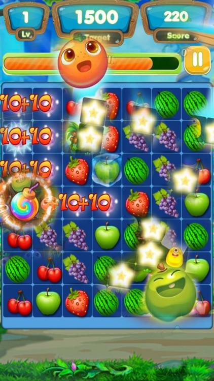 Fruit Match-3: Farm Line