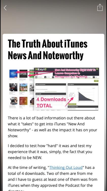 How To Podcast App screenshot-4