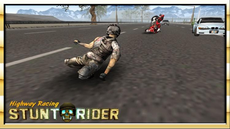 Highway Racing Stunt Rash screenshot-3