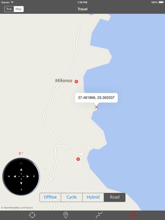 MYKONOS GREECE u2013 GPS Travel Map