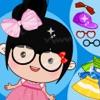 美丽公主丫丫:女孩子的打扮换装小游戏