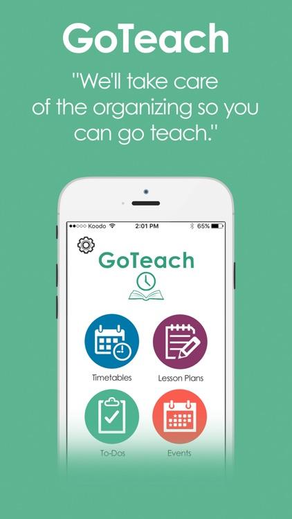 GoTeach - Teacher Planbook