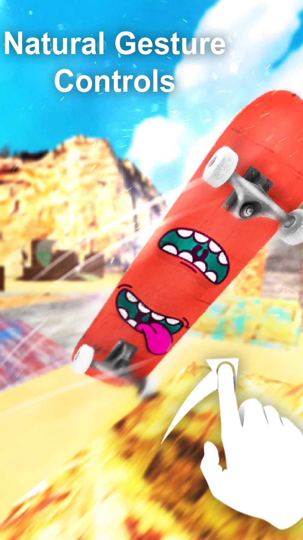 Epic Skate 3D -Free HD Skateboard Game Cheat Codes