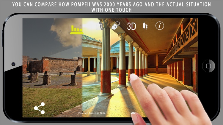 Pompeii Touch screenshot-1