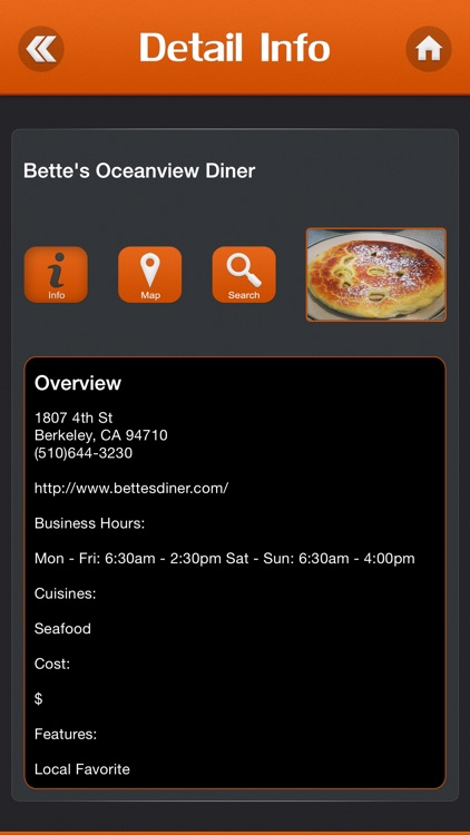 Great App for Diners Drive-ins & Dives Locations screenshot-3