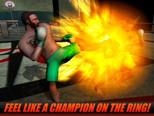 Thai Box Fighting Championship 3D Screenshot