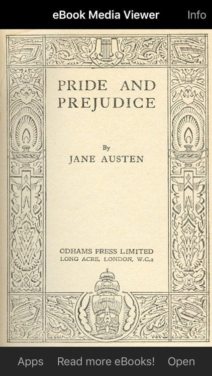 eBook: Pride and Prejudice screenshot-0