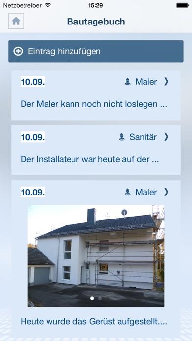Mein BauprojektScreenshot von 3