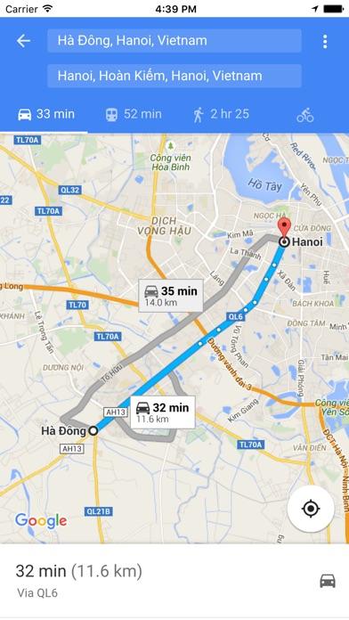 Screenshot for Bản đồ Việt Nam for Google Maps,Hà Nội,Huế,Hồ Chí Minh,Sài Gòn,... in Azerbaijan App Store
