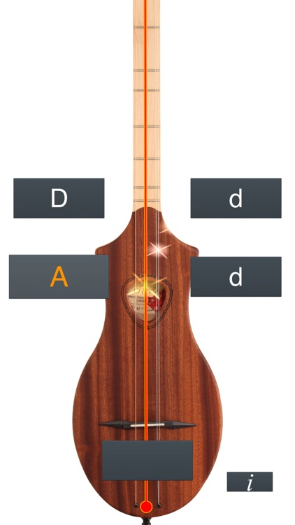 Dulcimer Tuner Simple Mixolydian screenshot-1