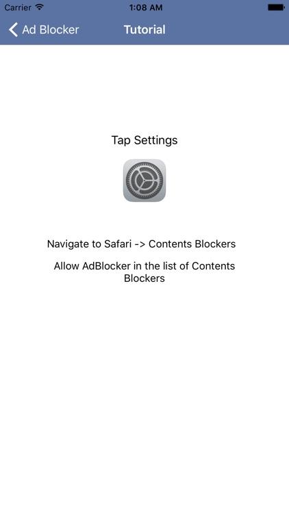 Ad Blocker Pro - Block and Remove Ads for Safari Browser Plus Anti Pop Up Remover screenshot-4