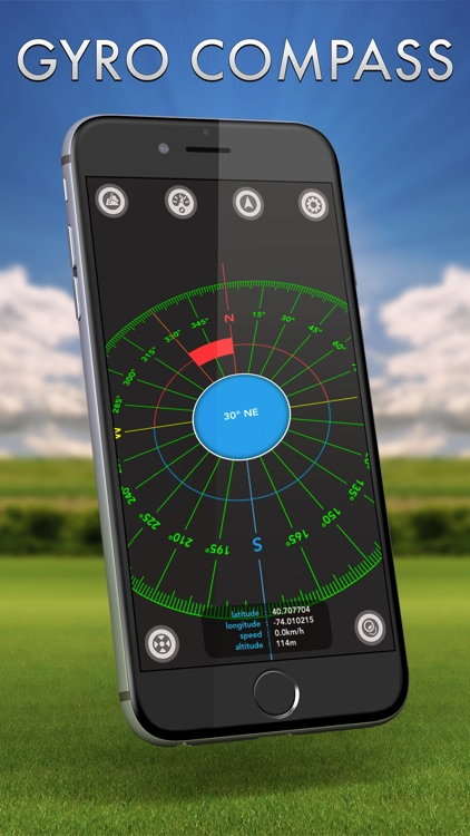 Gyro Compass screenshot-4