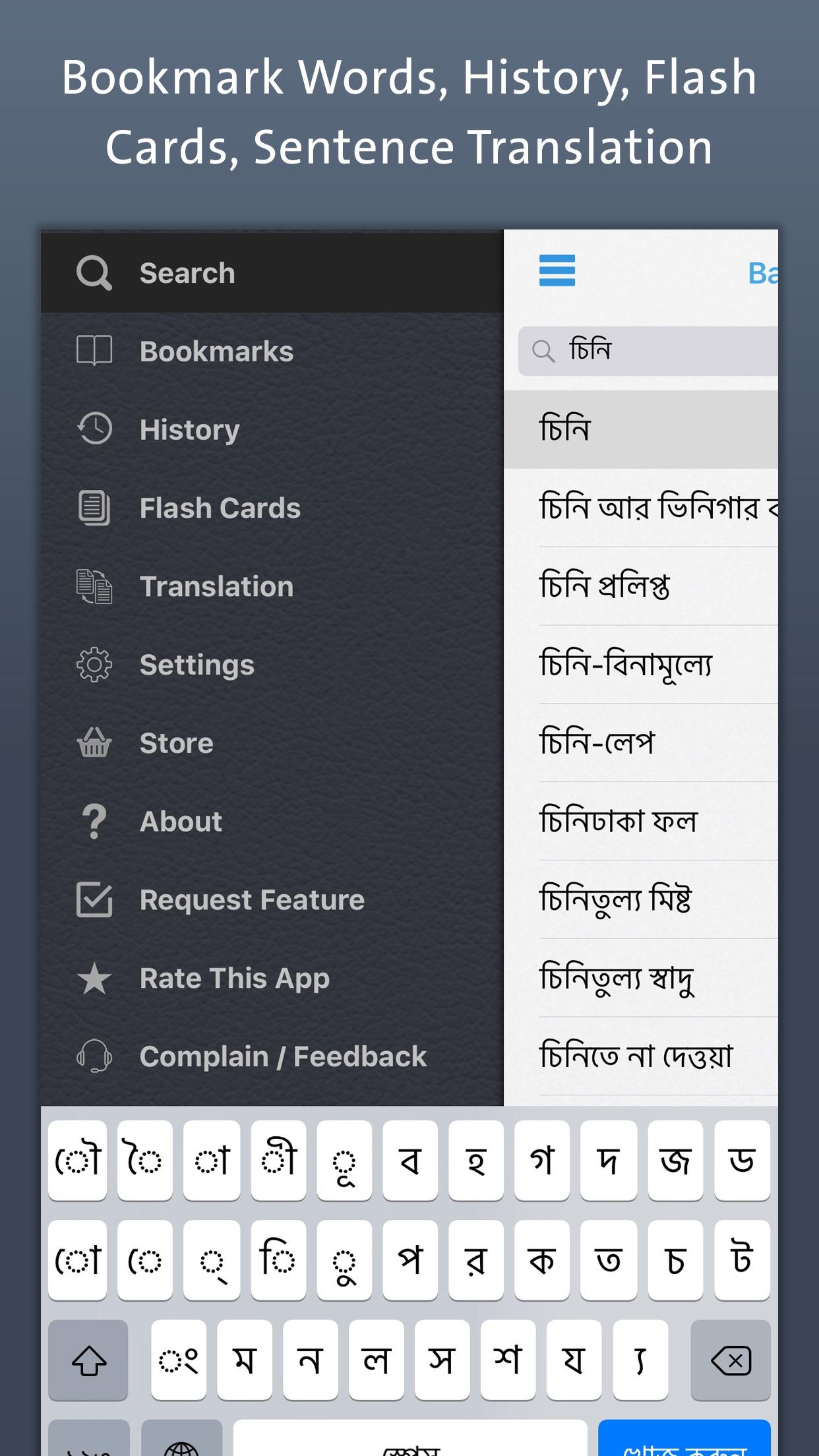 Bangla Dictionary Screenshot