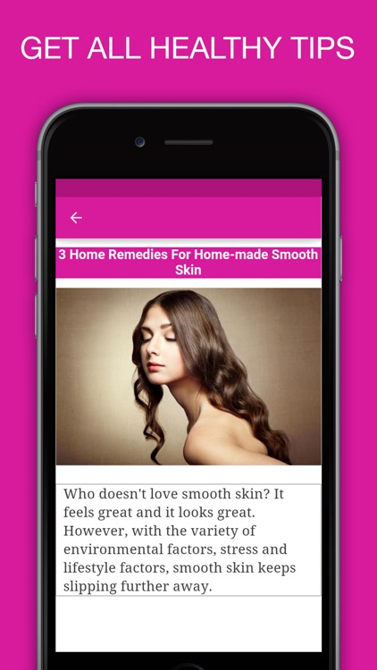 100+ Healthy Skin Care Tips - Best Natural Beauty Care Solutions screenshot-3