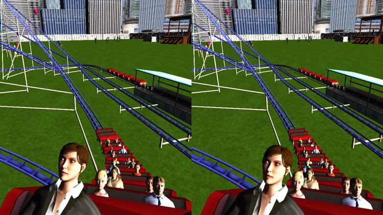 VR Top New FREE City Tourist Roller Coaster 3D