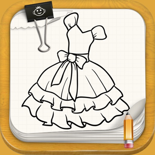 Learn To Draw Dresses For Little Princess
