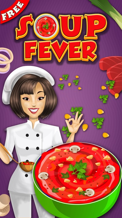 Soup Maker : free Girls Kids fun Cooking game for pizza,burger & sandwich lovers