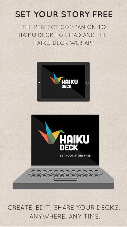 Haiku Deck Presentations and Slideshows screenshot-4
