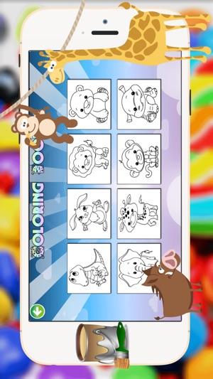 animales del bebé de libro para colorear - todo en 1 páginas de ...