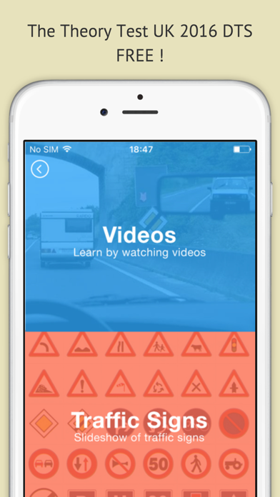 Highway code 2016 free - Driving licence theory screenshot four