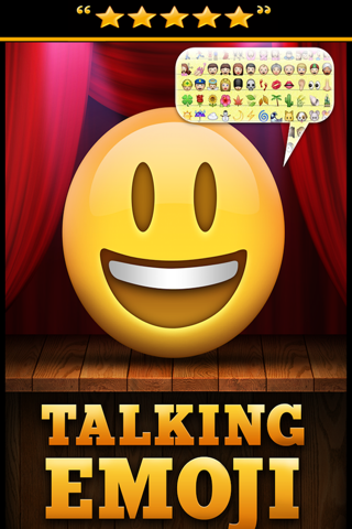 Talking Emoji Pro - Send Video Texting Emoticons using Voice Changer and Dash Emoji Geometry Stick Game screenshot 1