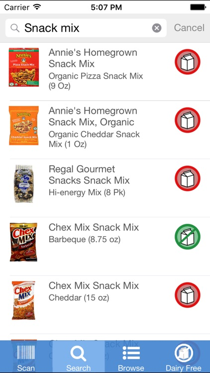 Dairy Free Food screenshot-3