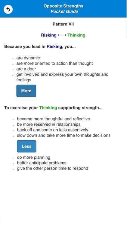 Opposite Strengths® Pocket Guide
