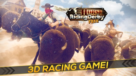 Horse Riding Derby Free | Wild Horses Games For Girls