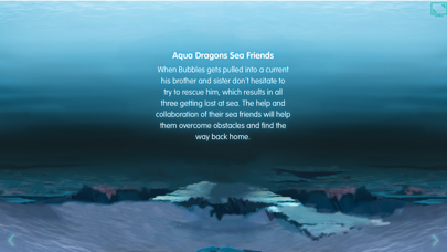 Aqua Dragons Sea Friends Interactive Book screenshot two