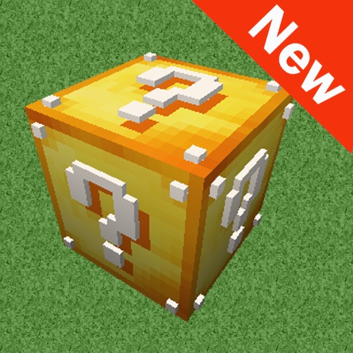 New Lucky Block Mod for Minecraft Game Free