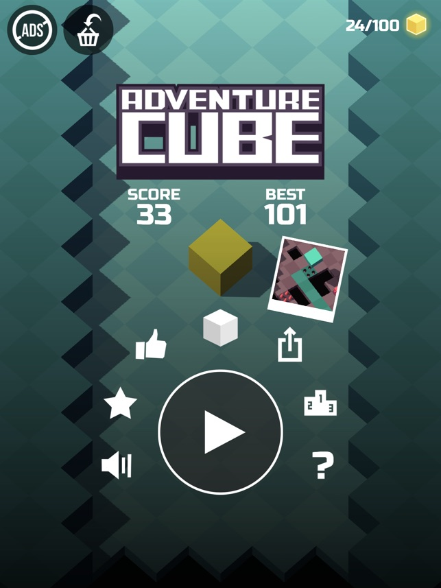 Adventure Cube Screenshot