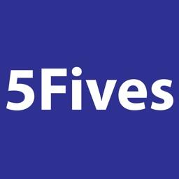 5 Fives Sliding Number Puzzle