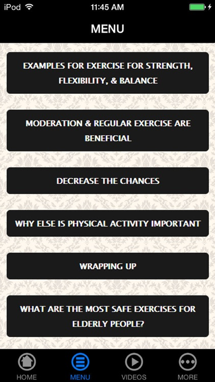 Discover The Secrets to Having a Good Exercises for The Elderly You Want screenshot-4