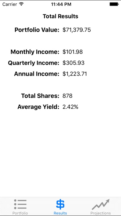 Dividender - Compound Interest screenshot-2