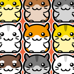Hamster Land - Cute Pets Hamsters Column Matches Up Games
