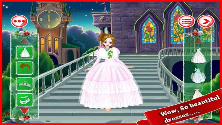 Christmas Beauty Girl Dressup Fun