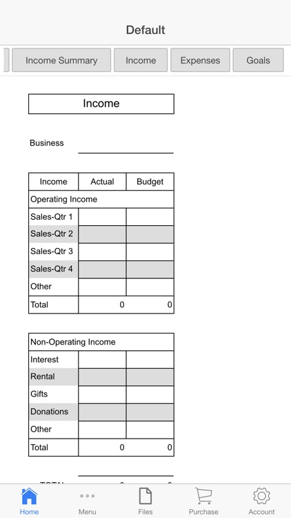 Business Budget Pro screenshot-2