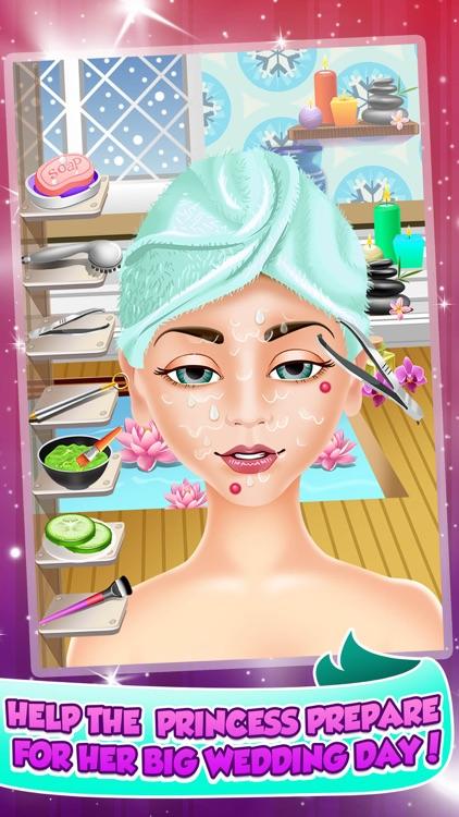 Princess Wedding Salon Spa Party - Face Paint Makeover, Dress Up, Makeup Beauty Games!