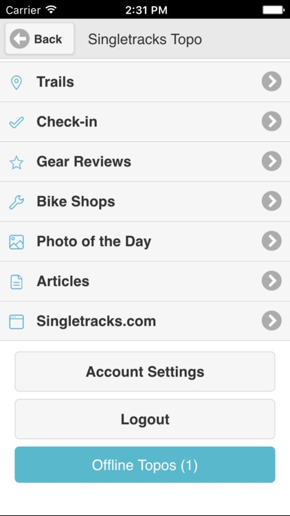 Singletracks Topo screenshot-3