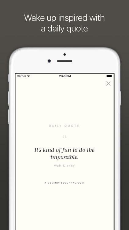 Five Minute Journal screenshot-4
