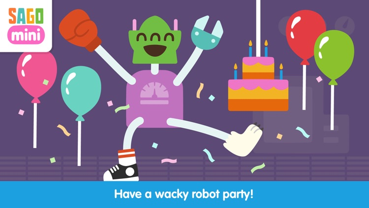 Sago Mini Robot Party screenshot-0