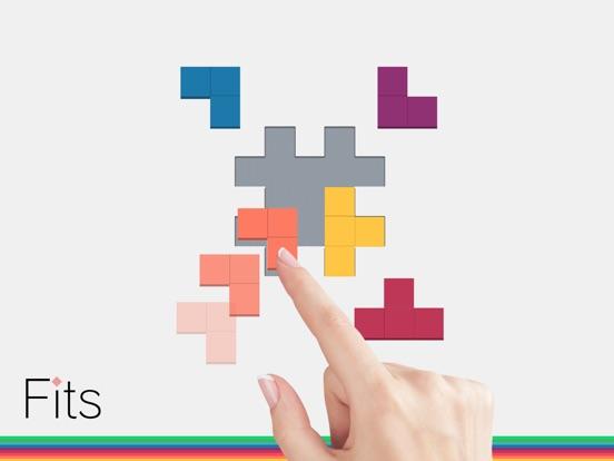 Fits - головоломки блок на iPad