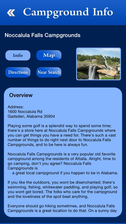 Alabama Campgrounds and RV Parks