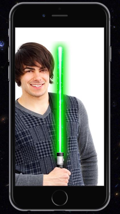 Lightsaber of galaxies - Simulator of laser swords screenshot-4
