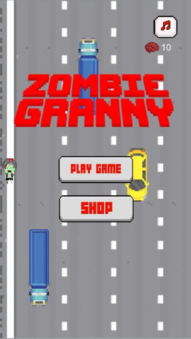 Zombie Granny Crossing screenshot one